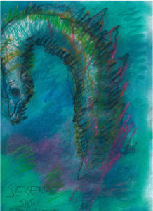 Serena the Seahorse by Martin Felt