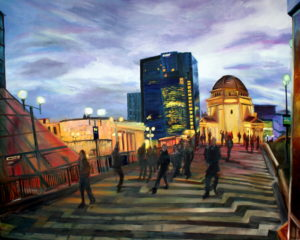 centenary square by Richard Noble