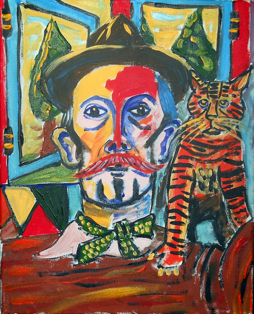 25539 || 1616 || Billy Childish With Cat ||  || 2687