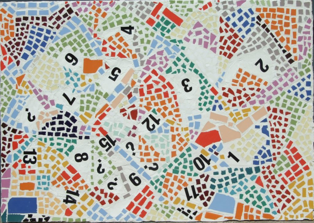 Mosaic Numbers | If you intend to put this work up for sale