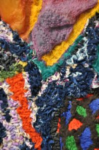 Outer Nothingness (detail) by Christine Sanderson