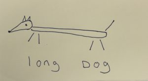 Long Dog by Christine Barry