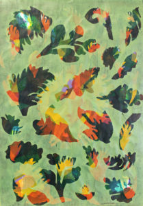Flowers and Leaves # 1 by Christine Harrison