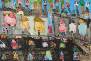 Houses by Christine Harrison