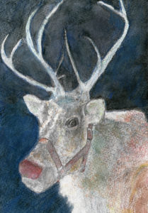Christmas Reindeer by Alan Farndon
