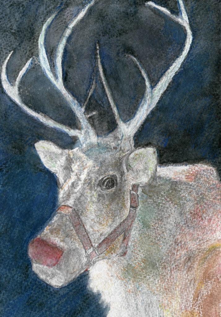 5490 || 1940 || Christmas Reindeer || £75 || 0