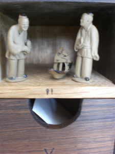 Cabinet of Ephemera (Detail) by Sue Burbidge