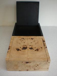 The Leaden Echo and the Golden Echo; Post Radio Therapy Boxes by Sue Burbidge
