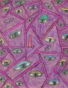 Psychotic Eyes by Clare Barnard