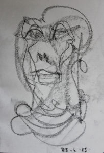Self Portrait by Clive Daniels
