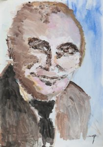 Clive James by Terri Avril Winchester