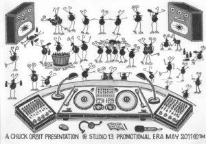 Ants Clubbing by Chuck Orbit