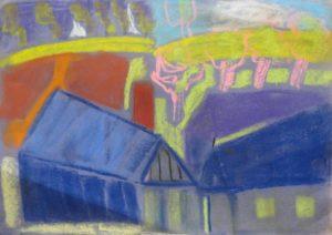Blue Village by Bergmann