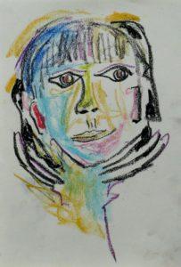 Self-portrait by Bergmann