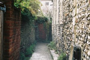Alley Way by In The Garden of the Cathedral