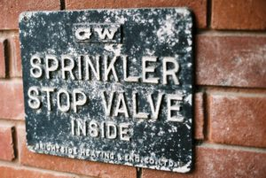 Sprinkler Stop Valve by Nameless Faceless