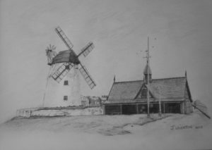 Lytham Windmill by Jayne Leighton
