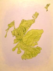 Scotland's Happy Piper by john anderson