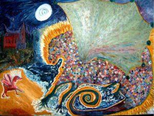 Cornish Dragon by Hannah Light