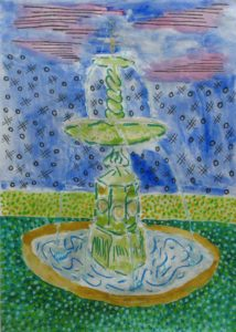 Water Fountain by Philip John Bell