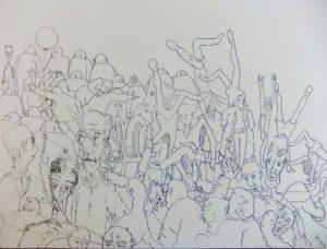 Crowd by John Taylor