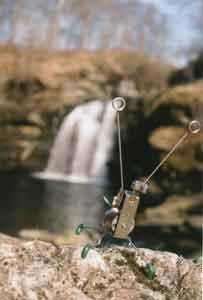 waterfall by Lynsey Cosham