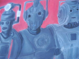 Cybermen through the ages by jon-green