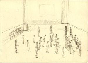 The Main Hall by David Beales