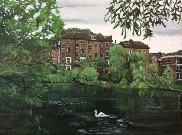 Landscape by Tedi Lena