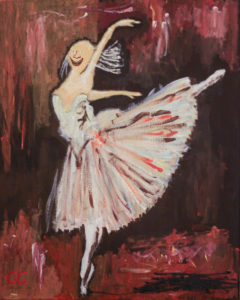 Dance for Thanatos. After Degas. by Colin Cameron