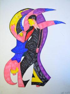 Dancers by Maximillian