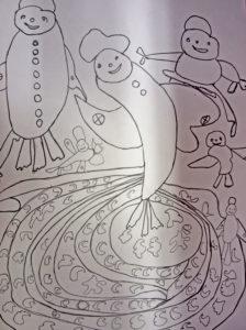 Dancing Fish by Maurice Wilson
