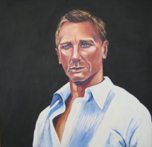 Daniel Craig by James Trueman