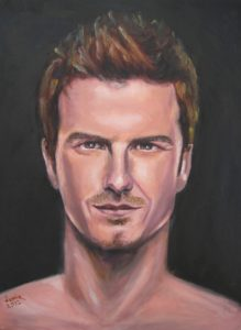 David Beckham by James Trueman