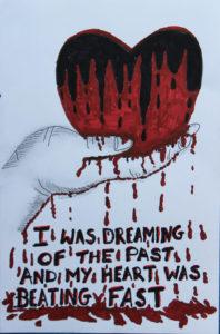 Bleeding Heart by david walker