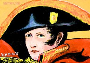 Napoleon by David by Daveynick