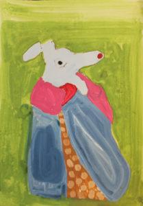 Rabbit by Nina Dawn Pritchard