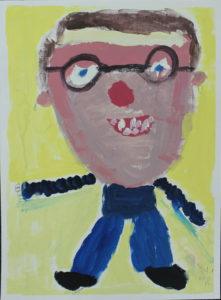 Self Portrait by Nina Dawn Pritchard