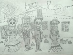 Day of the Dead by Sam Saint-Pettersen