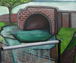 Dead End Canal by Linda Wallis