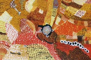 Aboriginal pattern by Debbie Lumb