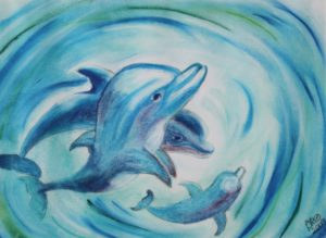 Dolphin Dreams by Debby Springall