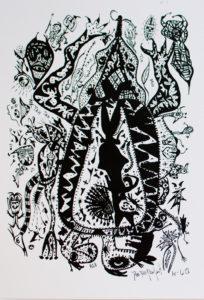 BiPolar Turtle by Delia Perfect