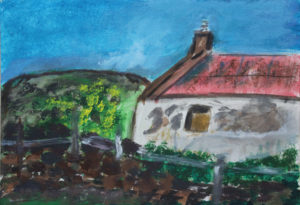 Derelict Cottage by Tom Paine
