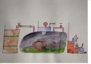 Chemicals of Life (detail) by Roy Eldridge