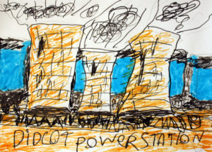 Didcot – A Powerstation Cooling Tower by Lucy Skuce