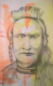 Sitting Bull by David Jones
