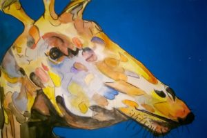 Giraffe by David Jones