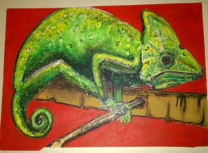 Chameleon by David Jones