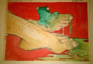 Free Frog Feet by David Jones